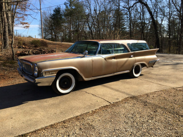 1961 chrysler new yorker station wagon crazy hot rat rod will export trade for sale in. Black Bedroom Furniture Sets. Home Design Ideas