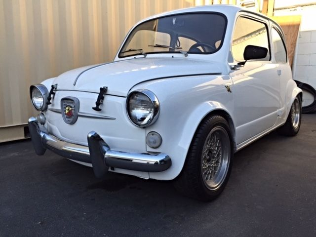 1961 Fiat 600 Abarth 850tc For Sale In Huntington Beach