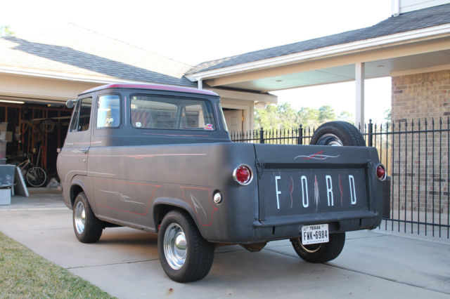 1961 Ford Econoline Pickup Truck For Sale In Porter Texas