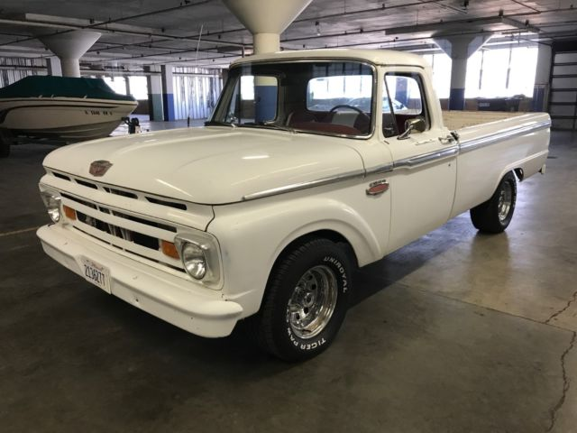 Old Antique Cars For Sale >> 1961 Ford F100 Custom Antique Truck - 5.0L 305ci V8 - Automatic - Custom Build