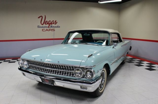 Nevada Auto Sound >> 1961 Ford Galaxie Sunliner! 352, Auto, Beautiful Driver! Great Sound! Look!