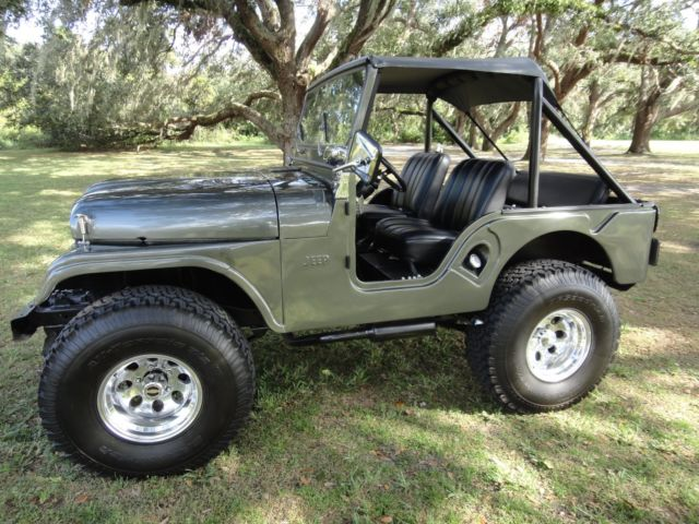 1961 jeep willys cj 5 gorgeous restoration lifted 4x4. Black Bedroom Furniture Sets. Home Design Ideas