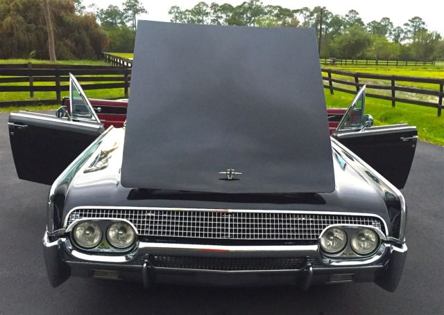 1961 lincoln continental convertible air ride. Black Bedroom Furniture Sets. Home Design Ideas