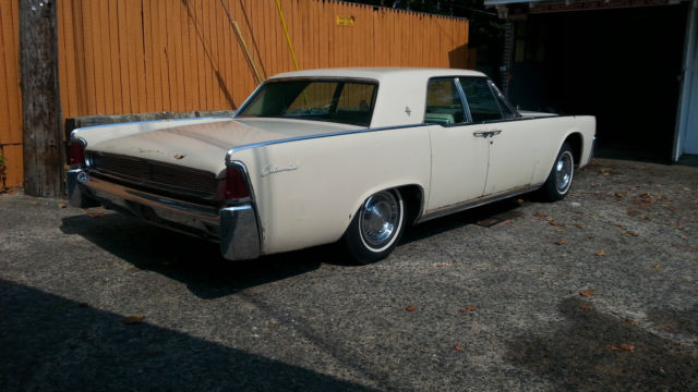 1961 lincoln continental solid and complete selling. Black Bedroom Furniture Sets. Home Design Ideas