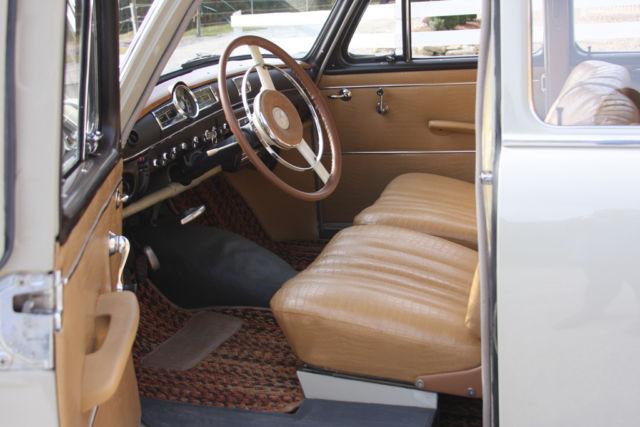 1961 Mercedes 190b Ponton For Sale In Francestown New