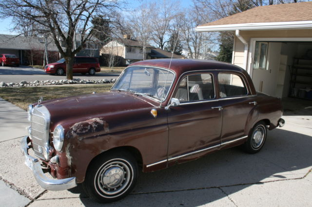 1961 mercedes benz 190 190sl and ponton parts for sale in for Mercedes benz for sale salt lake city