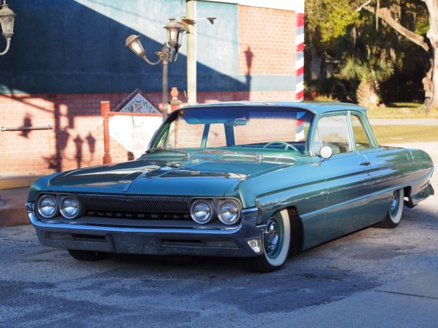 Used Cars For Sale In Tampa >> 1961 Oldsmobile Dynamic 88 2 Door Post Roof car...impala ...