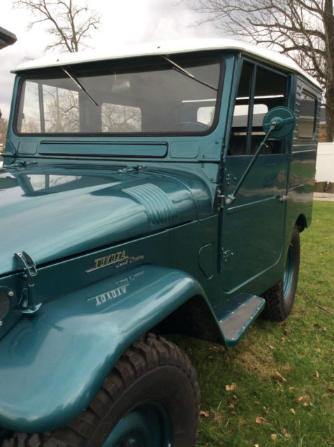 Master Cylinder Price >> 1961 Toyota FJ25 Land Cruiser Hardtop for sale: photos ...