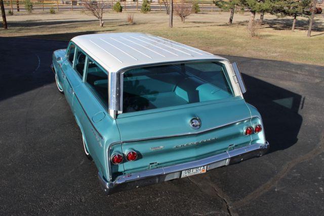 1962 Chevrolet Bel Air Wagon Survivor Original Paint Interior 327 V 8 62 Chevy For Sale Photos Technical Specifications Description
