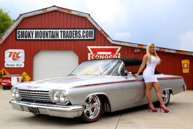 Smoky Mountain Traders Model Haley >> 1962 Chevrolet Impala Convertible REDUCED Alloways Rod Shop Build 502 5Speed AC