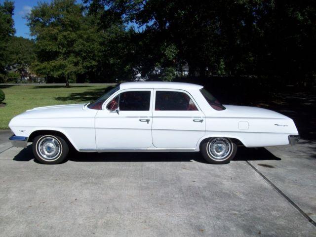 1962 chevy biscayne 3 owner 25k miles 283 pg nice car. Black Bedroom Furniture Sets. Home Design Ideas