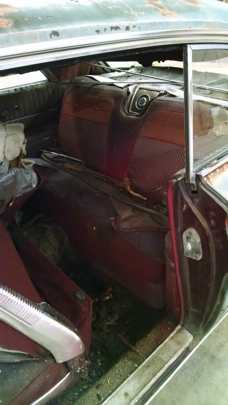 1962 Chevy Impala 2 Door Hardtop Project Car For Sale In