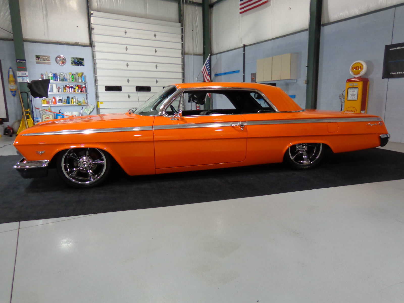 Kandy Green 63 Chevy BelAir on 13 wires wHydros  YouTube