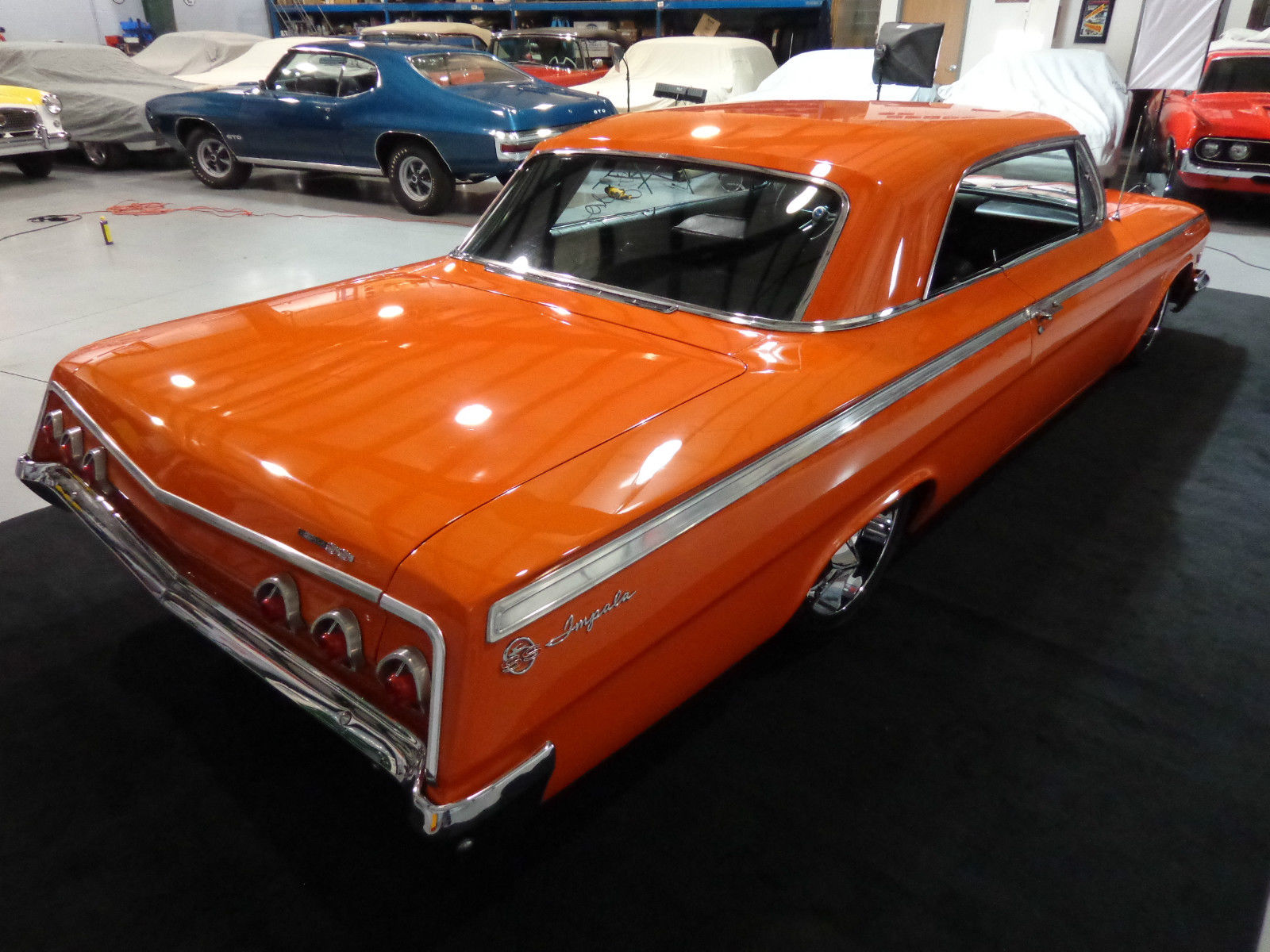 Chevy Impala Ss Clone Pro Touring Resto Mod Air Bagged Solid on Chevy Steering Column Wiring Harness