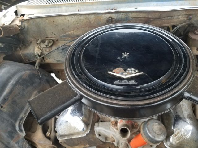 Chevy 409 Air Cleaner : Chevy impala super sport dual quad speed