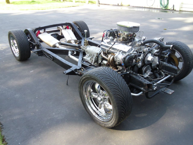 1962 Corvette Restomod Chassis And Drivetrain For Sale In
