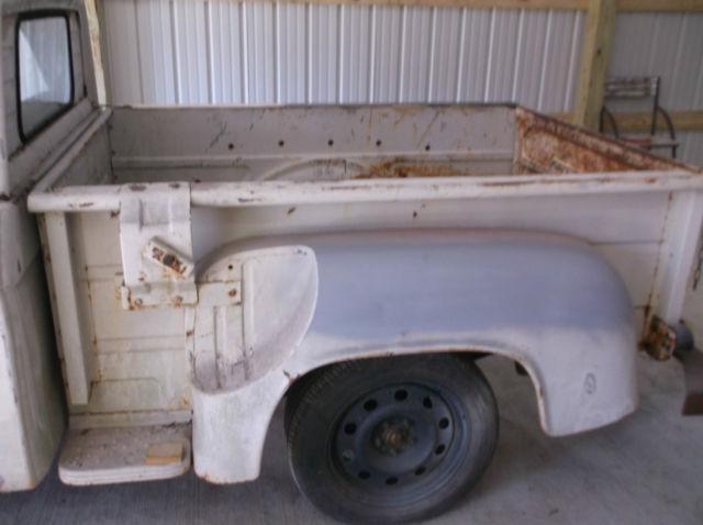 1962 dodge d1oo pick up rare barn find hotrod ratrod runs for Motor city barn finds
