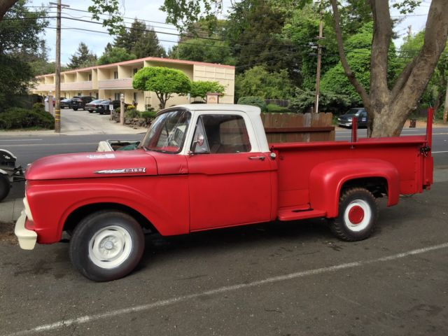 1962 Ford F-100 LongBed StepSide w/ Hand Crank Lift for sale in El