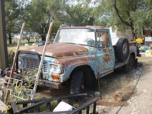 1962 ih model 120 truck 4x4 with manual transmission 304 v8 rare for sale in sedgwick. Black Bedroom Furniture Sets. Home Design Ideas