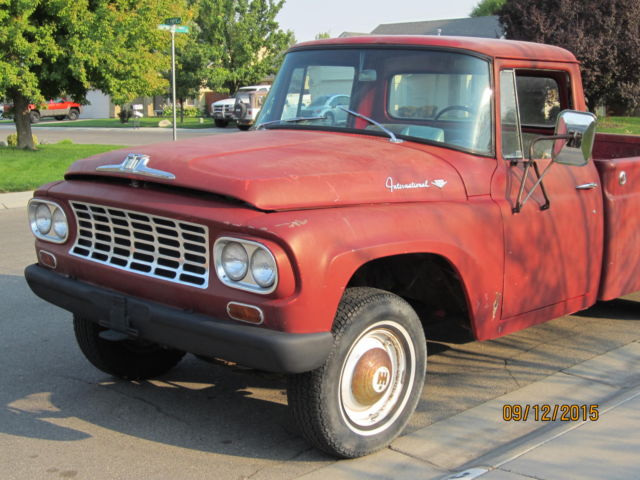 1962 International Harvester Pickup One Owner Red Low