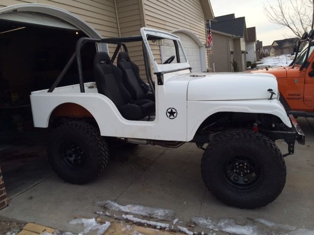 Willys Jeep For Sale >> 1962 Jeep Willys, CJ5, fiberglass body, 97 s-10 V-6 for sale in Bloomington, Illinois, United ...