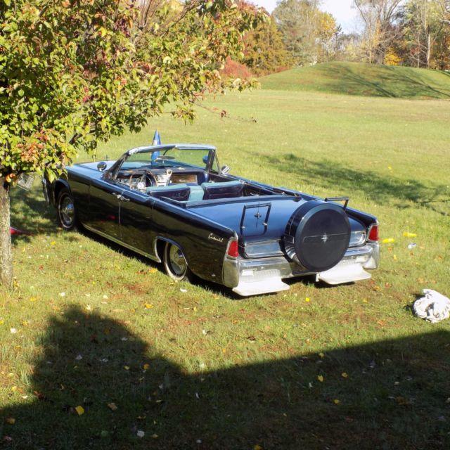1962 Jfk Lincoln Continental Sedan Parade Car