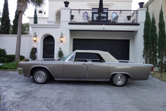 1962 Lincoln Continental Convertible 430 V8 Suicide Doors AC Pwr Everything