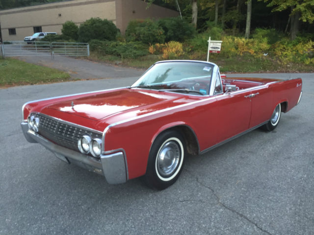 1962 LINCOLN CONTINENTAL SUICIDE CONVERTIBLE For Sale In Ellington Connecticut United States