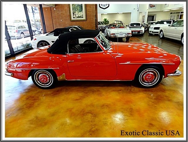 1962 mercedes benz 190 sl all original numbers matching for Mercedes benz usa customer service phone number