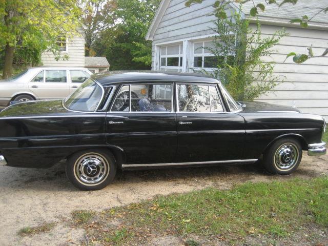 1962 Mercedes Benz 220 Se 4 Door For Sale In Traverse City