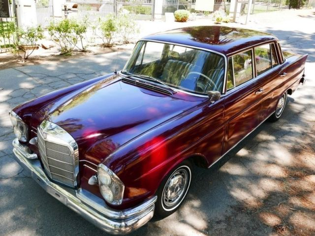 1962 Mercedes Benz 220 Se For Sale  Photos  Technical