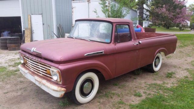 1962 Mercury M100 Unibody Rare Canadian Built Mercury