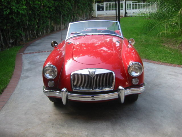 1962 MG MGA 1600MKII low mileage beatifull excellent ...
