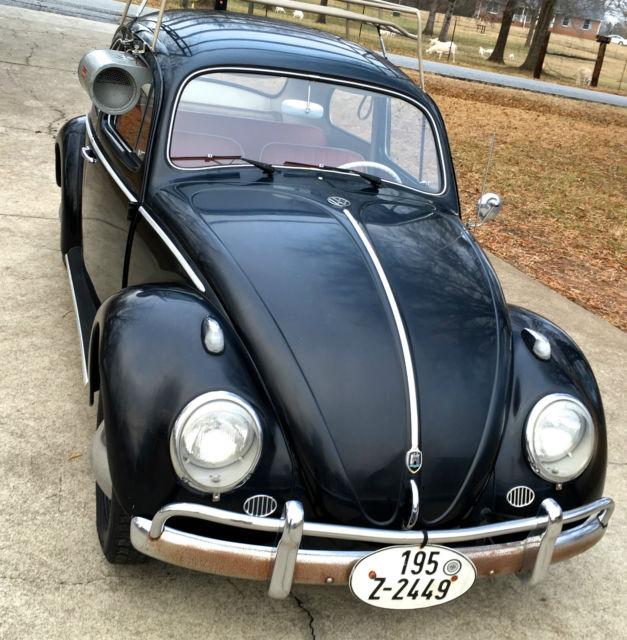 vw beetle wolfsburg bug  original unrestored