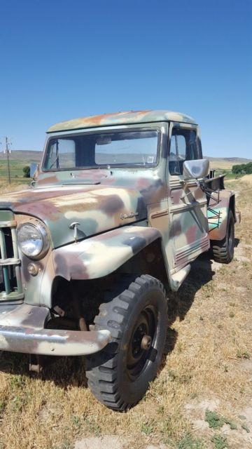 1962 Willys Jeep Pickup Truck In Good Running Condition