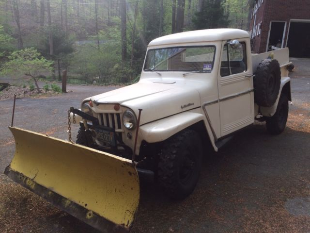 Willys Jeep Truck For Sale >> 1962 Willys Jeep Pickup with hydraulic snow plow for sale: photos, technical specifications ...
