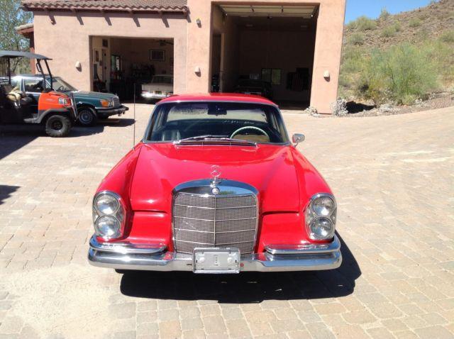 1963 220se 220 se coupe manual transmission for sale in for Mercedes benz manual transmission for sale