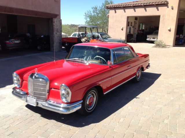 1963 220se 220 se coupe manual transmission for sale in for 1963 mercedes benz 220s for sale