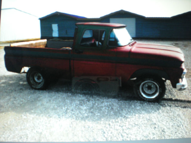 1963 63 Chevy C 10 Short Box Pickup Truck 6 Cyl 3 Speed