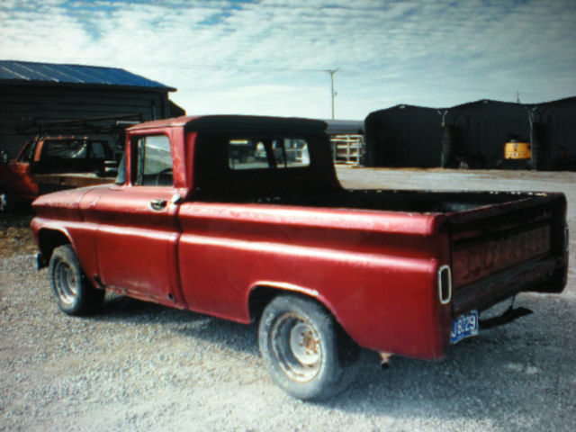 1963 63 chevy c 10 short box pickup truck 6 cyl 3 speed chevrolet nice tailgate for sale in des. Black Bedroom Furniture Sets. Home Design Ideas