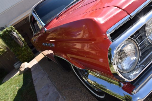 1963 Buick Electra 225 Classic Convertible Red Leather
