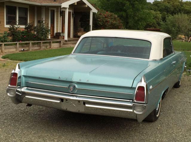 1963 Buick Lesaber 2 Door Hard Top All Original Car For