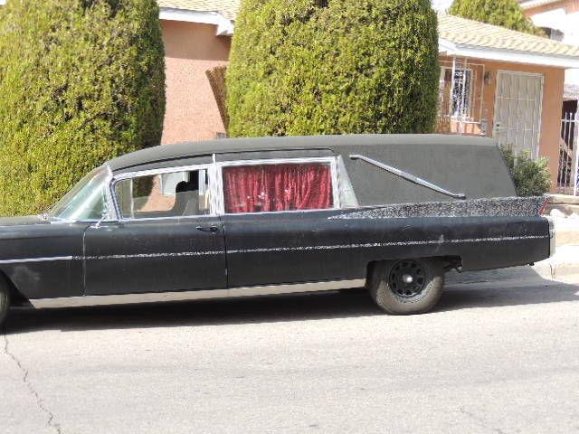 1963 Cadillac M&M Hearse 97k miles 390v8 rat rod ratrod ...