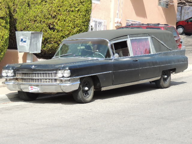 1963 Cadillac M&M Hearse 97k miles 390v8 rat rod ratrod ...