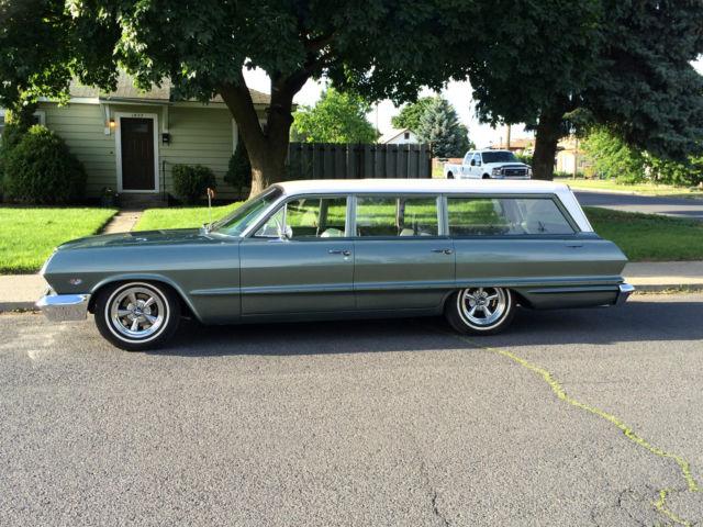 1963 Chevrolet Bel Air Station Wagon Mild Custom For Sale In Spokane  Washington  United States