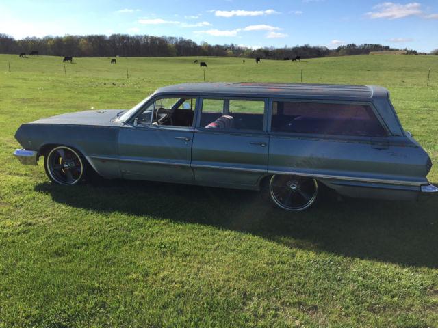 1963 chevrolet biscayne base 3 8l impala belair bel air. Black Bedroom Furniture Sets. Home Design Ideas