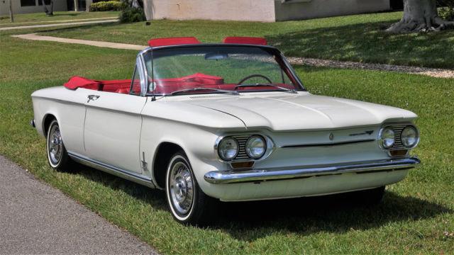 "1963 Chevrolet Corvair Monza Turbo Spyder ""7 yr ..."