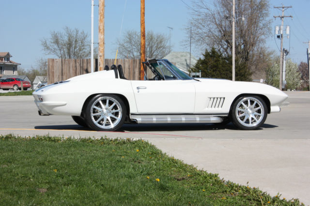 1963 Chevrolet Corvette Convertible Resto Mod for sale in Kansas