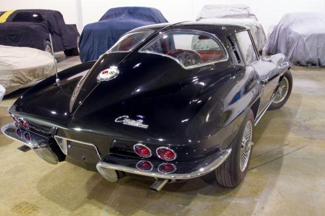 1963 Chevrolet Corvette Stingray Split Window Coupe Rare
