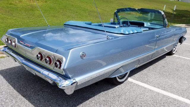 2006 Chevrolet Impala Ss >> 1963 Chevrolet Impala SS 409 Convertible for sale: photos, technical specifications, description